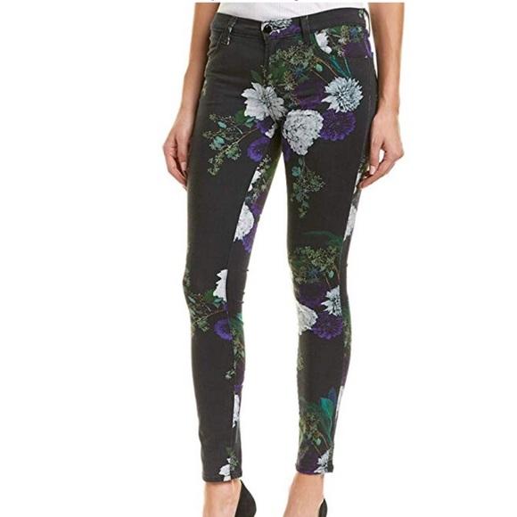 J Brand Denim - Skinny floral denim J BRAND 620 Multi color jeans